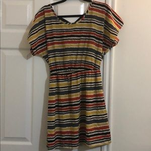 Cute striped dress size Large